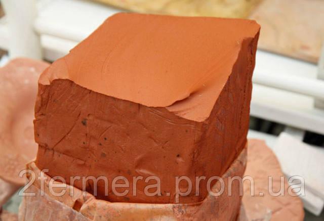 Стандартный блок красной глины
