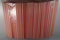 Трубочки широкие для напитков d6,8 21см Фрешка полосатая (500 шт)