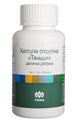 Спирулина Тяньши в капсулах  - мощный антиоксидант. 100 капсул, фото 2