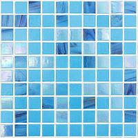 Перламутровая голубая мозаика D-Core DC-09