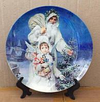 Дизайнерская тарелка сувенирная Антонио Гарсиа «Воспоминание о Рождестве»