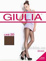 Колготки темно-коричневые Giulia Like 20 Den Cappucino 2