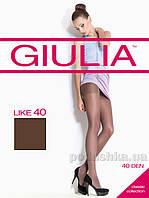 Колготки темно-коричневые Giulia Like 40 Den Cappucino 4