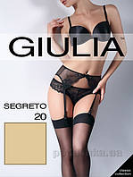 Чулки бежевые 20 Den Giulia Segreto Daino 3/4