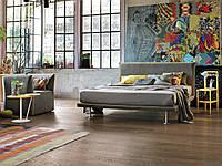 Итальянская кровать с тонким изголовьем Bravo фабрика Tomasella