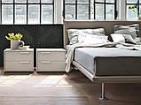 Итальянская кровать с тонким изголовьем Bravo фабрика Tomasella, фото 4