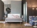 Итальянская кровать с тонким изголовьем Bravo фабрика Tomasella, фото 5
