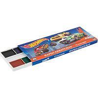 """Краска акварельная """"Hot Wheels"""" в картонной коробке, 12 цветов, ТМ Kite"""