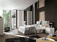 Итальянская кровать с мягким изголовьем Amami фабрика Tomasella