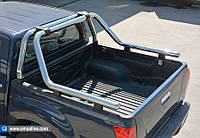 Toyota Hilux 2006-2015 Ролл-бар на кузов из нержавейки 76мм