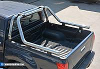 Mitsubishi L200 2008-2015 Ролл-бар на кузов из нержавейки 76мм