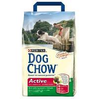 Dog Chow (Дог Чау) Сухой корм для активных собак Active 15кг