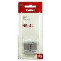 Аккумулятор Сanon NB-4L для IXUS 220 HS | IXUS 115 HS | PowerShot SD1000 | PowerShot SD300 | IXY 70 | IXY 90