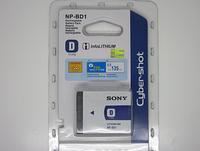 Аккумулятор Sony NP-BD1   NP-FD1 для Cyber-shot DSC-T2 T70 T75 T200 T300 T500 T700