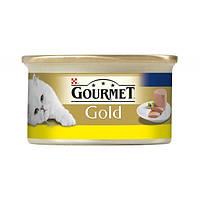Gourmet Gold (Гурмет Голд) Консерва для котів, курка мус 85гр
