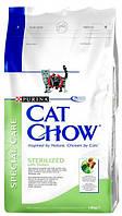 Cat Chow (Кет Чау) Сухой корм для стерилизованных кошек Special Care Sterilized 15кг