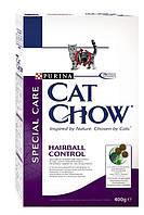 Cat Chow (Кет Чау) Сухой корм для кошек Special Care Hairball Control 400гр (для выведения шерсти)