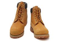 Ботинки Timberland (РЫЖИЕ) Демисезонные