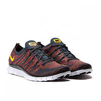 Nike Free Flyknit NSW Anthracite/Laser Orange