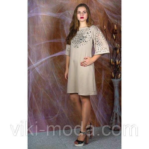 Платье Афродита №2 (бежевый)