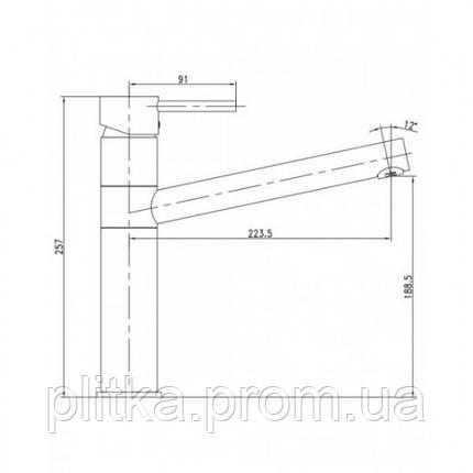 Смеситель для кухни Imprese LOTTA 55402-SS, фото 2