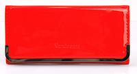 Женский  кошелек  клатч портмоне Vandream красный