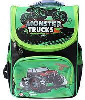Ранец каркасный WL-856 Monster trucks  Willy