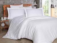 Комплект постельного белья Hobby Exclusive Sateen Diamond Damask евро белый