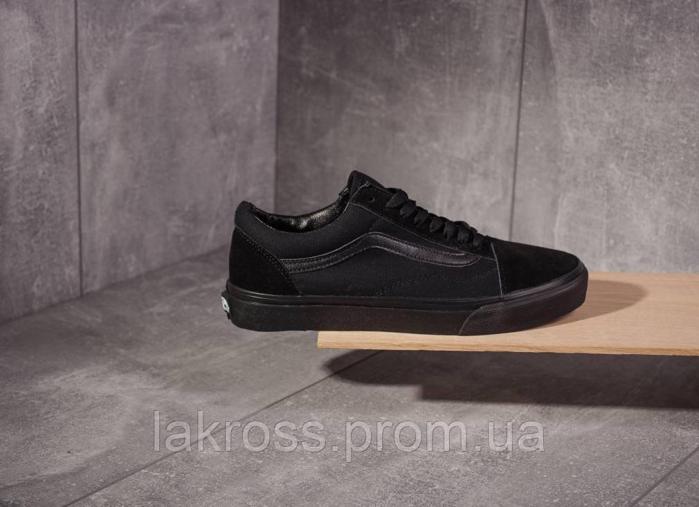 44c7f66e48a8 Кеды Vans Old Skool Black White (ЧЕРНЫЕ) — в Категории
