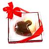 Шоколадный подарок молодоженам. Сердце Двух половинок из бельгийского шоколада