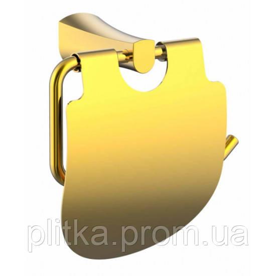 Держатель для туалетной бумаги Imprese CUTHNA (140280) zlato