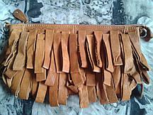 Клатч из натуральной кожи ручная работа