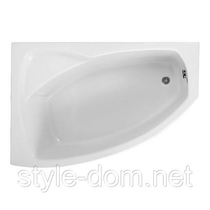 Ванна асимметричная FRIDA1 140x80 L, фото 2