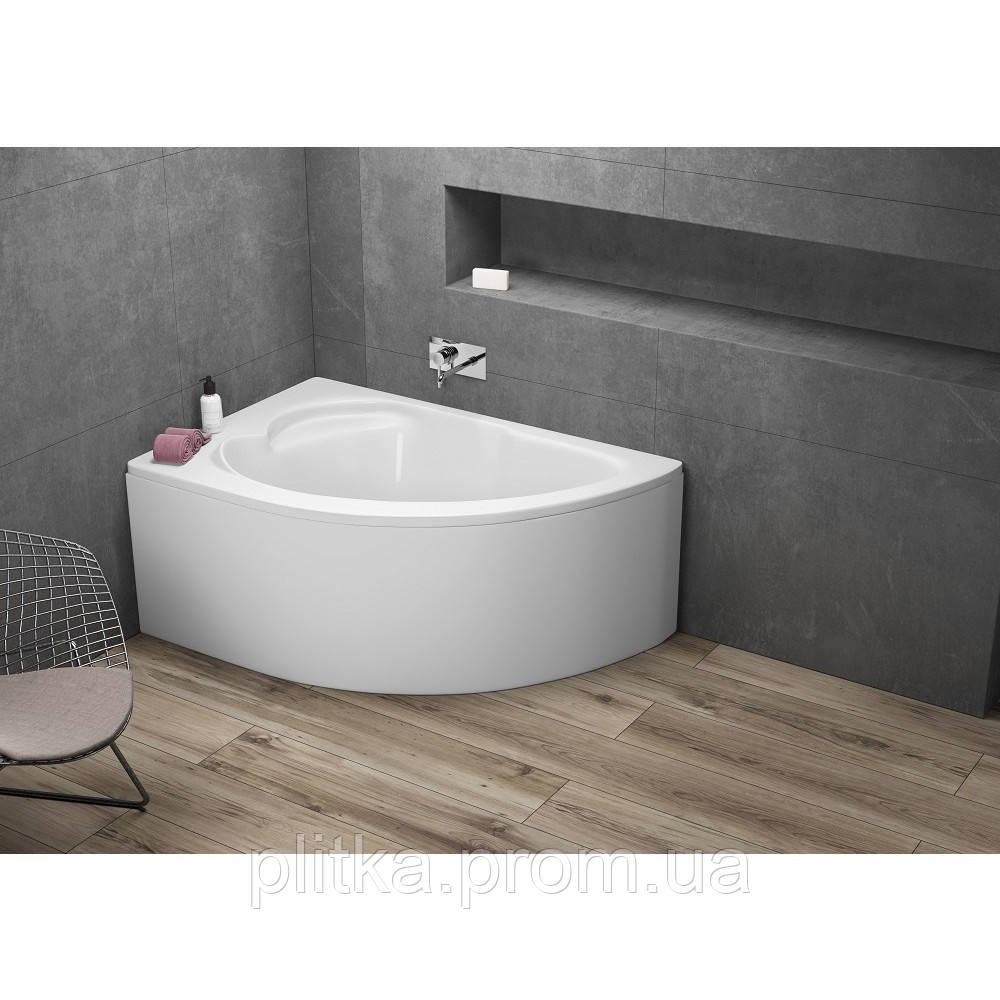 Ванна асимметричная STANDARD 130x85 L