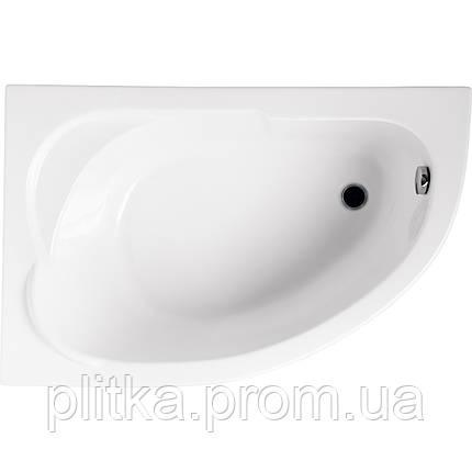 Ванна асимметричная STANDARD 130x85 L, фото 2