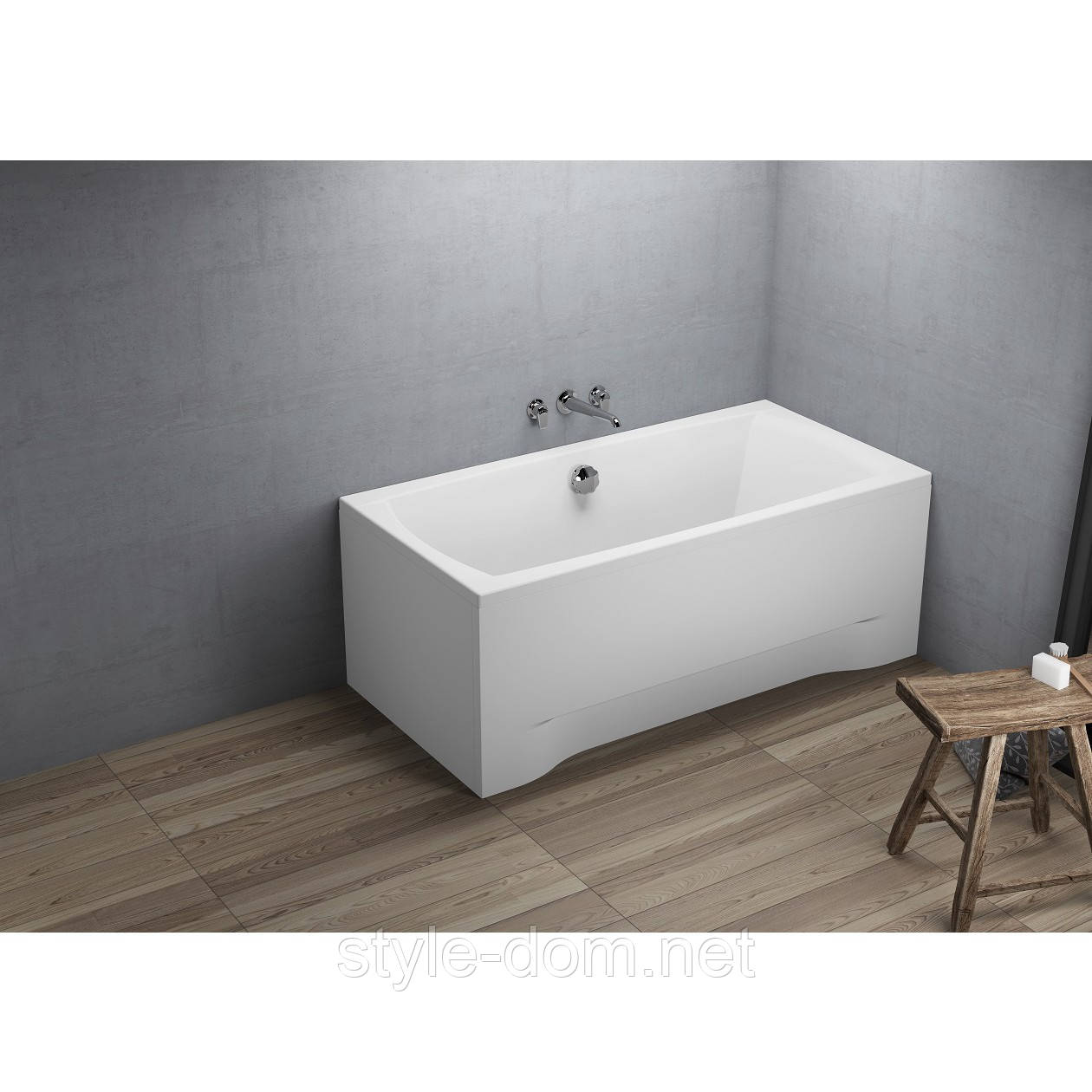 Ванна прямоугольная CAPRI NEW 140x70