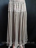 Недорого купить женские длинные юбки оптом