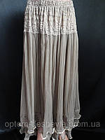 Недорого купить женские длинные юбки оптом, фото 1