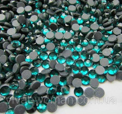 Стразы DMC, Blue Zircon SS16 (блю циркон) термоклеевые. Цена указана за 144 шт