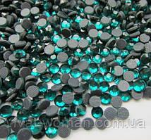 Стрази DMC, Blue Zircon SS16 (блю циркон) термоклеевие. Ціна вказана за 144 шт