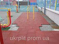 Противоскользящая плитка для спортивных площадок