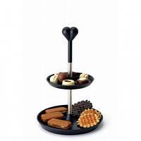 Двухярусная стойка-ваза для печенья, фруктов ORIGINAL BergHOFF (3800017)