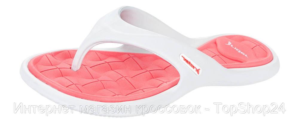 Женские вьетнамки Rider Island 6 FEM White /Pink