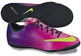 Детская футбольная обувь (футзалки) Nike Mercurial Victory IC Jnr (оригинал), фото 5
