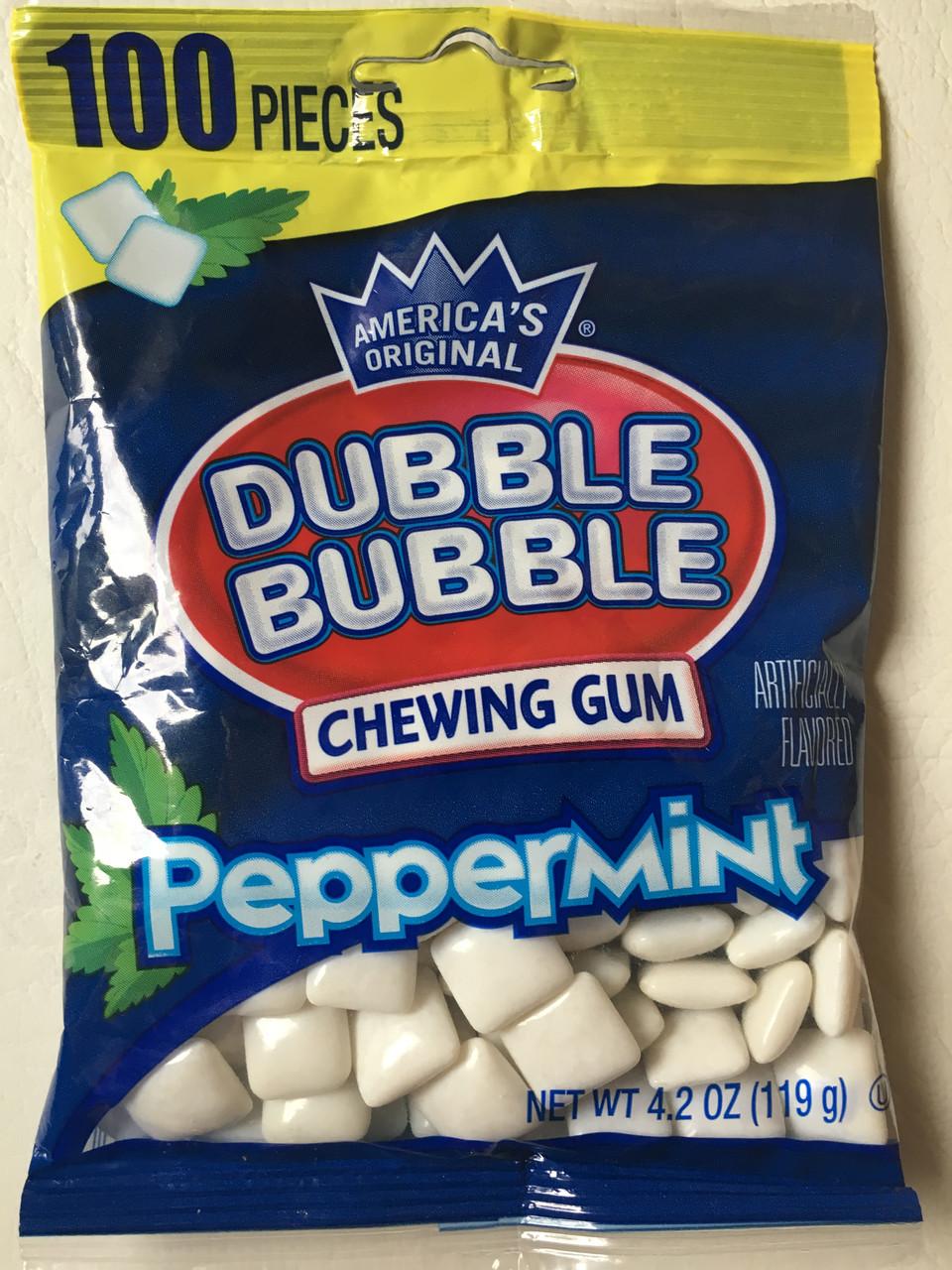 Жвачка Dubble Bubble Перечная мята