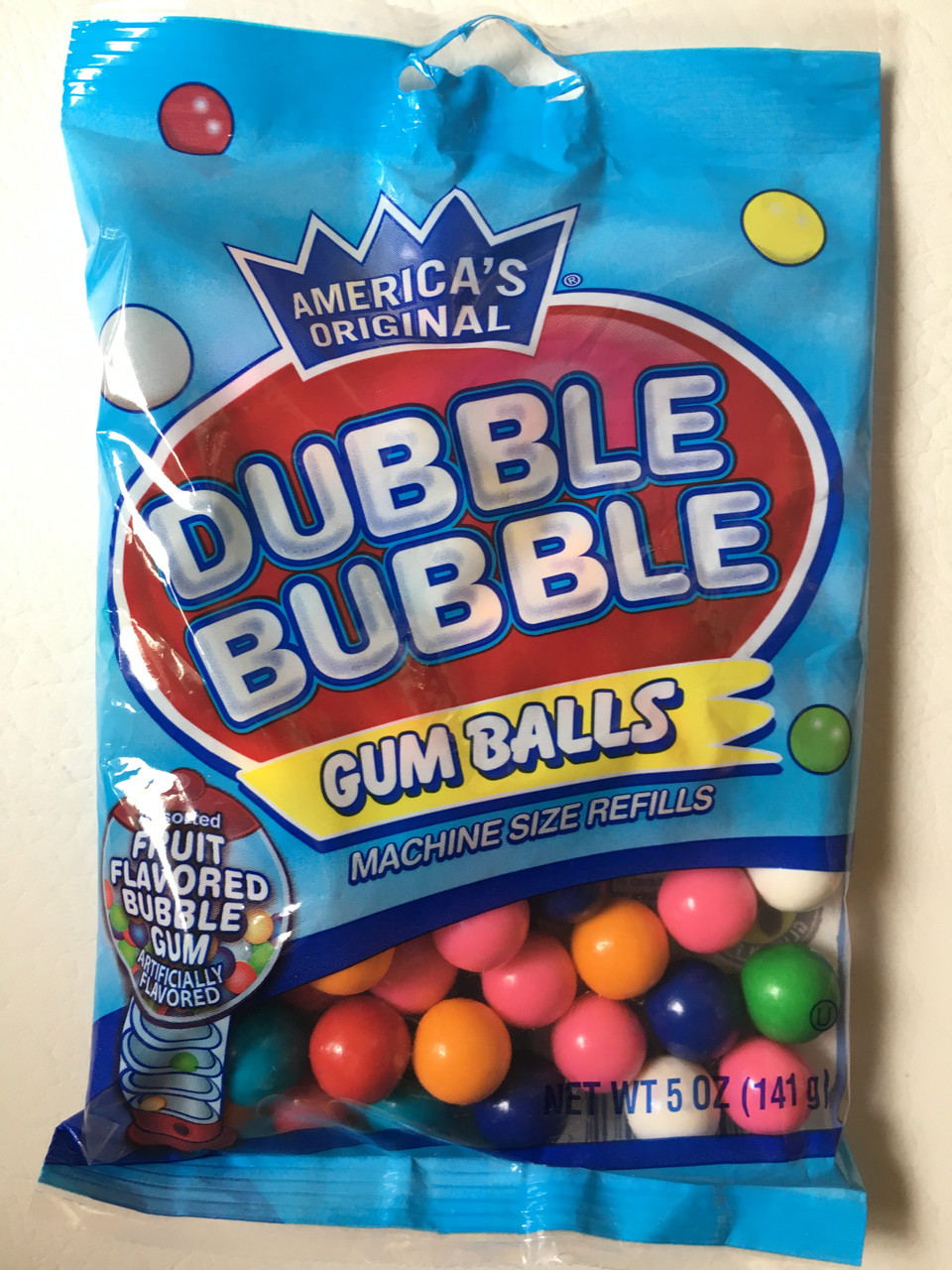 Жвачка Dubble Bubble Фруктовое ассорти