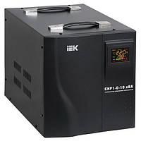 Стабилизатор напряжения Home 10 кВА (СНР1-0-10) рел. перен. ИЭК