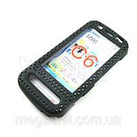 Пластиковый чехол-сетка для Nokia C6-00, фото 1