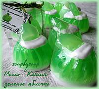 """Мыло """"Кексик"""" зеленое яблочко, фото 1"""