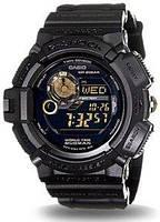 Мужские часы Casio G-Shock G9300GB-1ER MUDMAN Касио противоударные японские кварцевые
